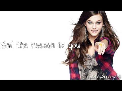 Tiffany Alvord - The Reason Is You (with lyrics)