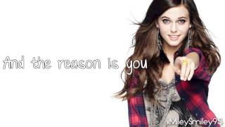 Tiffany Alvord - The Reason Is You (with lyrics)