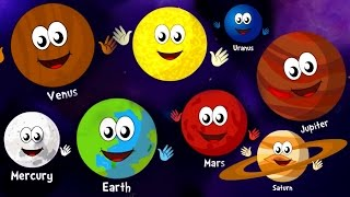 The Planets Song | Nursery Rhymes and Kids Songs | Songs for Children By Guitar Bob