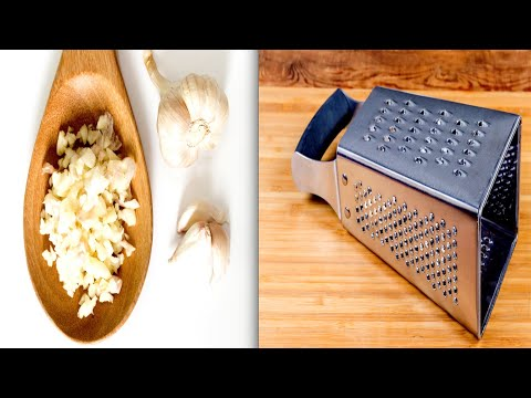 Why You Should Be Grating Your Garlic!
