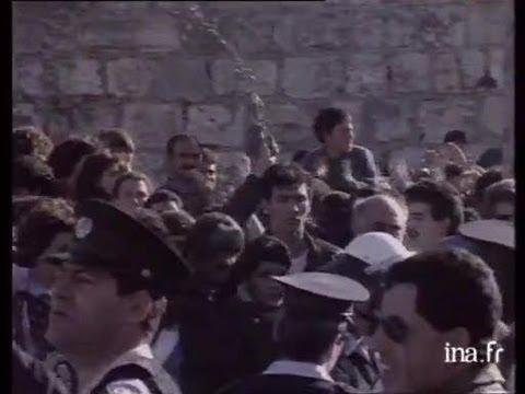 Manifestation Pour La Paix Réprimée En Israël