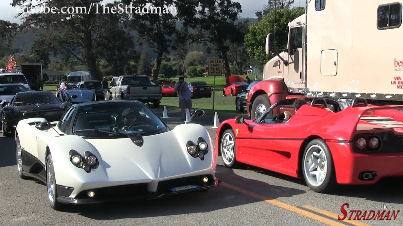 Revving Pagani Zonda F in the United States! - YouTube