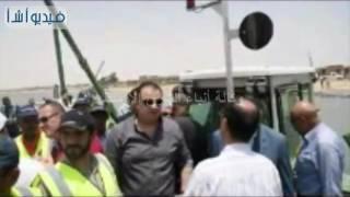 بالفيديو : بدء تطهير بحيرة قارون لأول مرة في تاريخها بالفيوم