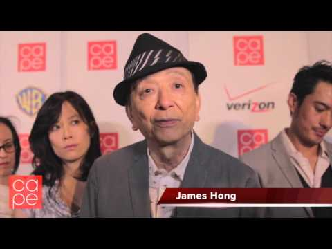 Interview with James Hong at CAPE Holiday Party 2014
