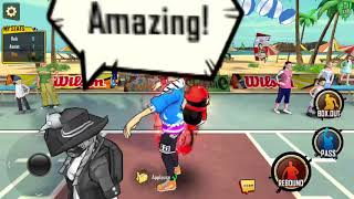 Dunk Nation 3X3 Best FREE Mobile iOS Android Game- Natsuki