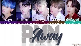 Baixar TXT  - 'RUN AWAY' Lyrics [Color Coded_Han_Rom_Eng]