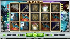 SPELLCAST SLOT - witches and wizards magic themed video slot machine by NetEnt