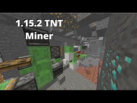 1.15.2 Reliable Tunnel Bore / Diamond Miner | Minecraft