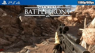 Star Wars Battlefront (PS4) - Survival: Tatooine Gameplay @ 1080p (60fps) HD ✔