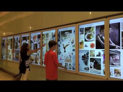 PGK Interactive Video Wall for Capitol Singapore