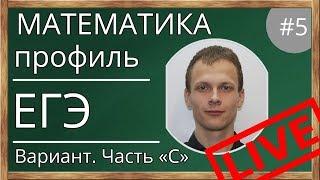 Разбор варианта ЕГЭ по математике. ЕГЭ. Математика. Профильный уровень (профиль).