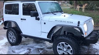 Rebuilding A Wrecked Car JEEP RUBICON (Part 12)