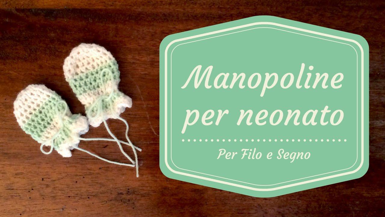 limpido in vista vendita calda la moda più votata Tutorial - Manopoline per neonato