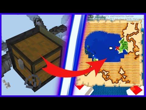 КАК ВЫКОПАТЬ СОКРОВИЩЕ НА ВЫЖИВАНИИ В Minecraft BE (Bedrock Edition)!