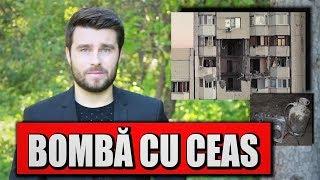 EXPLOZIA DIN SECTORUL RÂȘCANI / BUTELIA CU GAZ - BOMBĂ CU CEAS