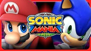 MARIO VS SONIC DEATH BATTLE MOD?! - Sonic Mania Plus Mod Showcase