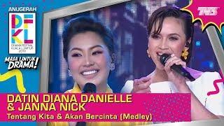 DFKL2018 Datin Diana Danielle Janna Nick Tentang Kita Akan Bercinta Medley