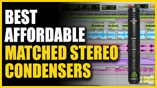 Best Affordable Matched Stereo Condensers: Lewitt LCT 140 Air