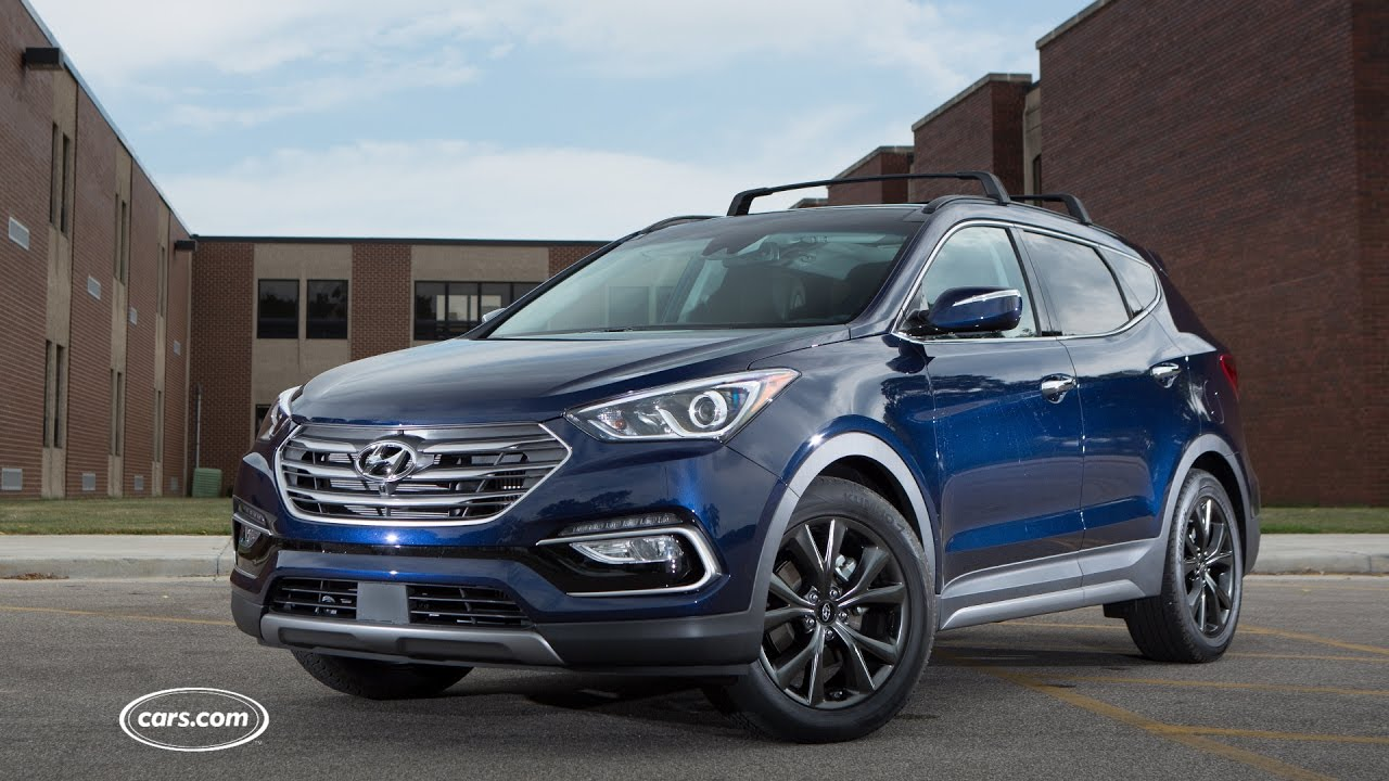 2017 Hyundai Santa Fe Sport Review Youtube