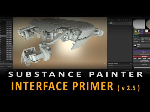 Substance Painter: Interface Primer