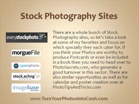 Best Place To Sell Photos Online - Online Microstock Photo Agencies