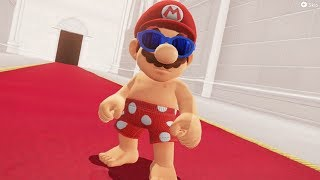 Super Mario Odyssey - Top 5 Funniest Bowser Reactions to Mar...