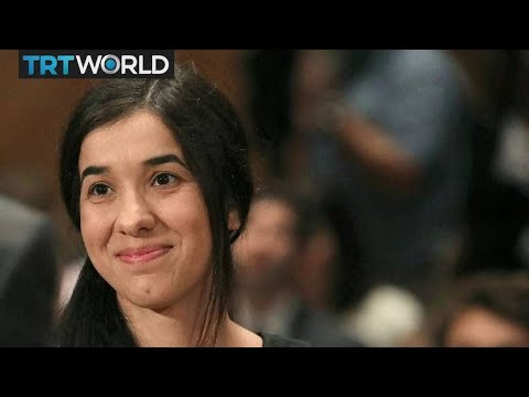 Nobel Peace Prize 2018: Yazidi survivor,...