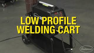 The PERFECT Welding Cart for Small Shops or Garages - The Low Profile Welding Cart - Eastwood