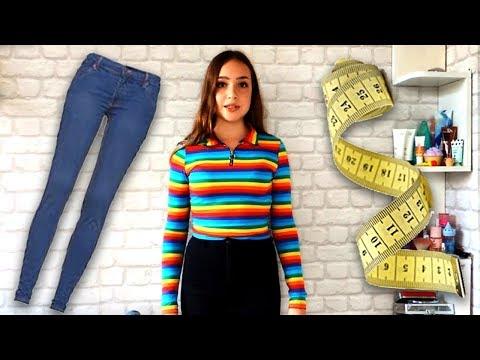 Как определить размер джинсов самостоятельно