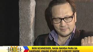 rob schneider promises to return to philippines