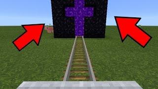 Como fazer o portal do nether em formato de cruz no seu minecraft pe 1.5.4