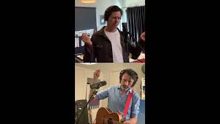 Under Pressure - Paul Dempsey (Something for Kate) and Bernard Fanning, Live from lockdown.