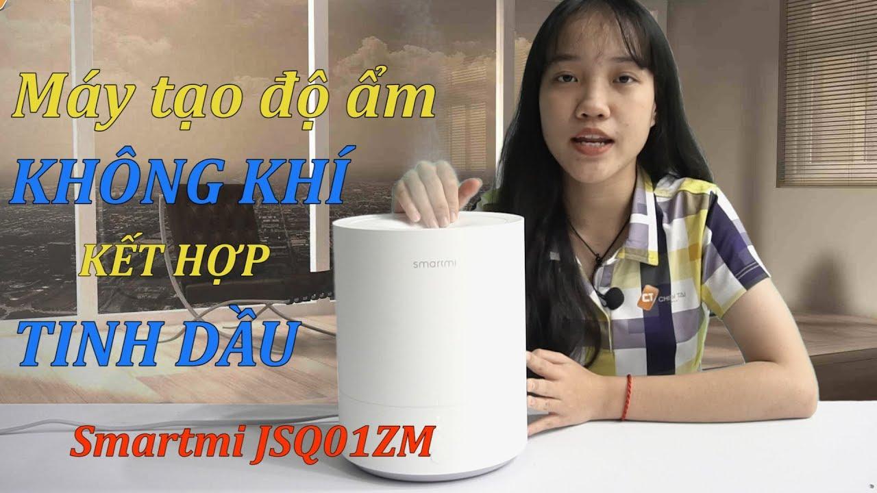 Máy tạo độ ẩm Xiaomi Smartmi JSQ01ZM dùng được tinh dầu