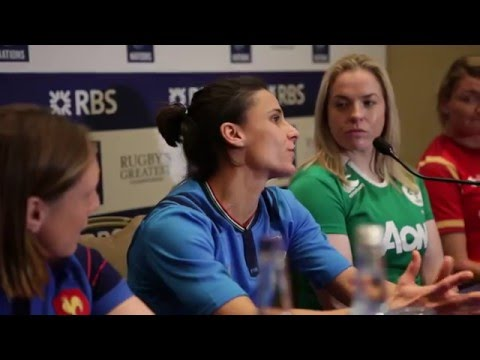 Italy's Sara Barattin excited ahead of 2016 Women's Six Nations