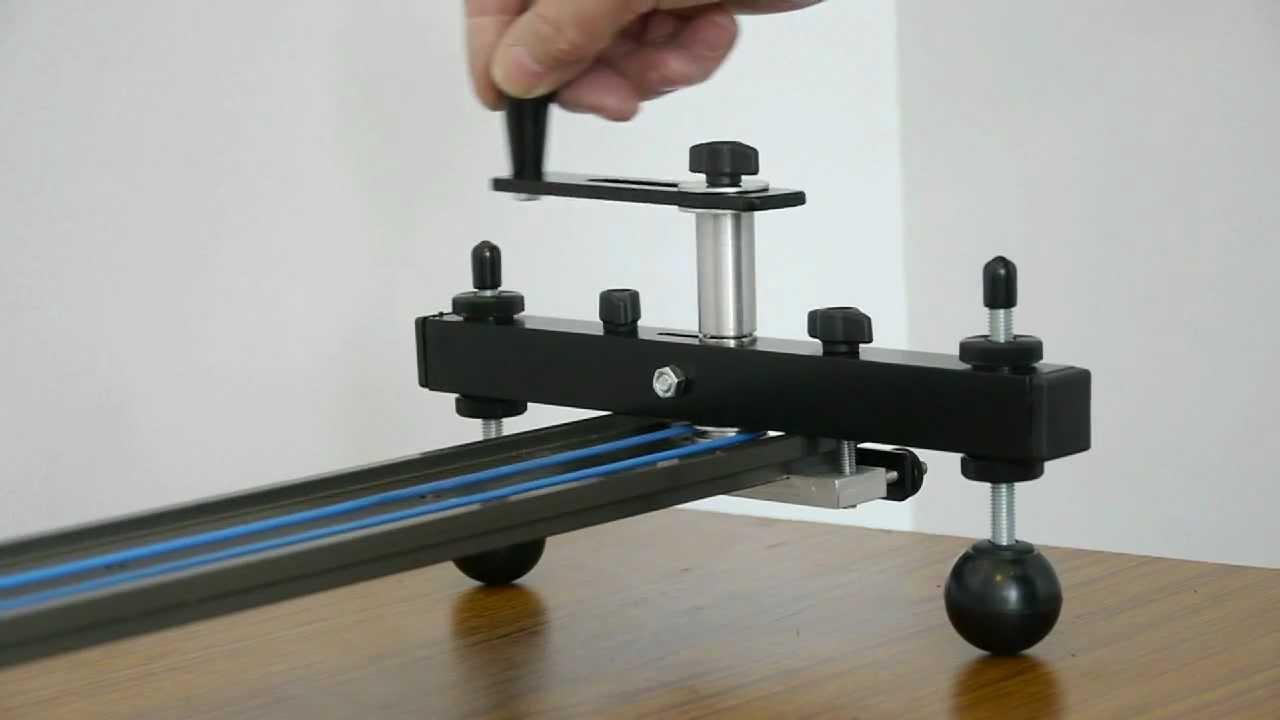 Hague Camera Slider Crank Handle Kit Youtube