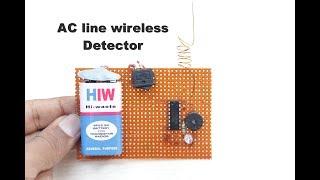 Comment Faire une ligne de courant détecteur sans fil à la Maison