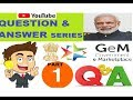 GeM 3.0 II Problem solving video II Question Answer series II part 1 II (in hindi)