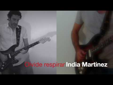 Olvidé Respirar India Martínez David Bisbal guitarra cover