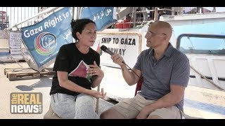 From the Freedom Flotilla, Swedish MP Calls on Sweden's Government to Impose Sanctions on Israel