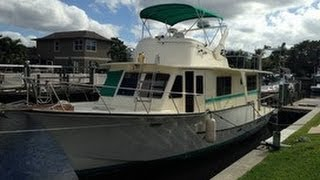 Used 1972 Pearson 440 Trawler for sale in Fort Myers, Florida
