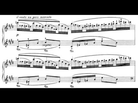 Ravel: Jeux D'eau (w/ score)