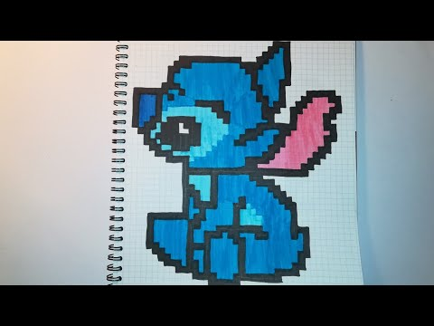 Pixel Art Stitch Youtube