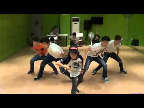 130711 SEVENTEEN TV Star Team SuJu Happiness Performance