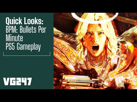 BPM: Bullets Per Minute PS5 Gameplay   Quick Looks