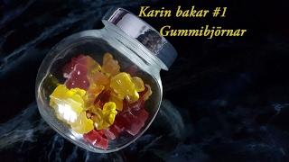 Karin bakar #1 Gummibjörnar