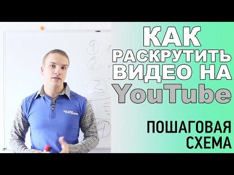 Как раскрутить видео на YouTube. Пошаговая схема