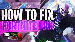 How YOU can fix your fortnite lag - Fix Fortnite lag 2019 season 8