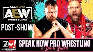 AEW DYNAMITE: Fyter Fest Night 2 Show Recap! | Speak Now Pro Wrestling w/ Denise Salcedo