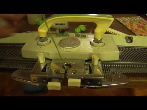 Tejido a Maquina: Enhebrado manual de agujas