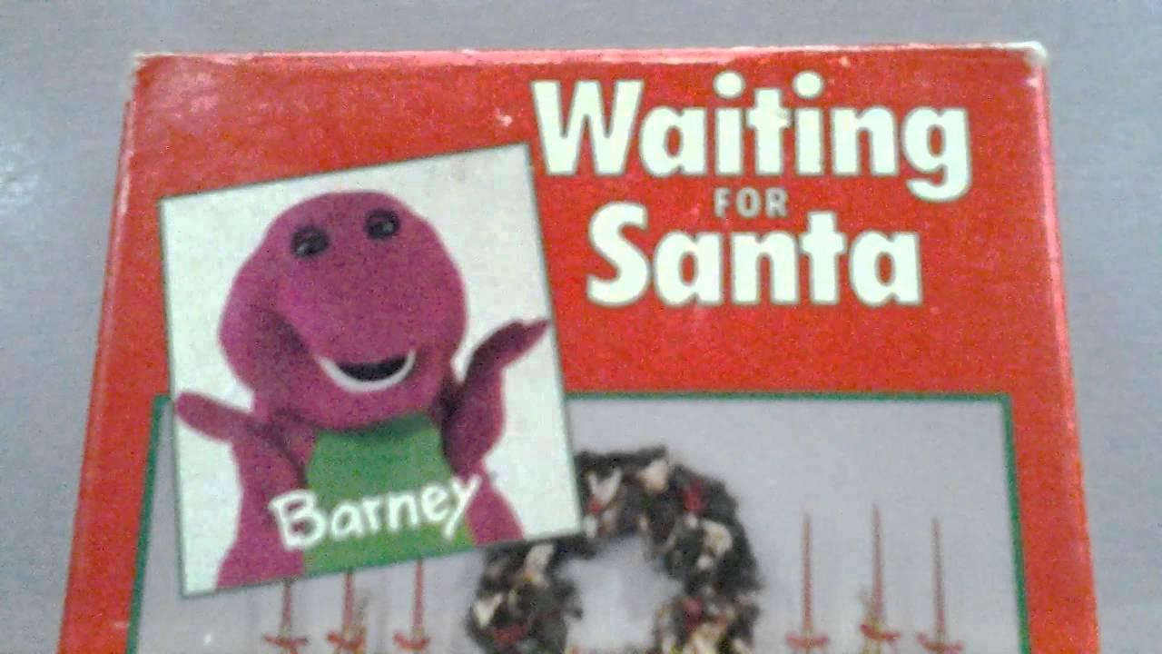 barney video waiting for santa lyons edition vhs youtube